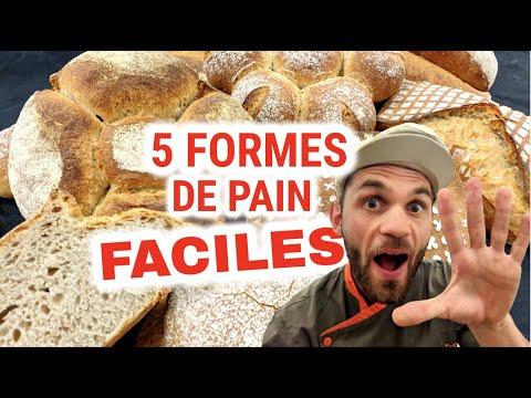 formes de pain