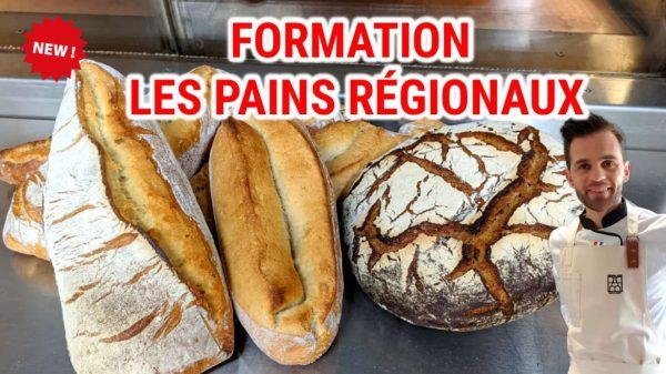 les pains regionaux - boulangerie pas à pas